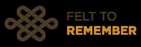 Felt to Remember — Logo — 600px-200px — Light style logo-01